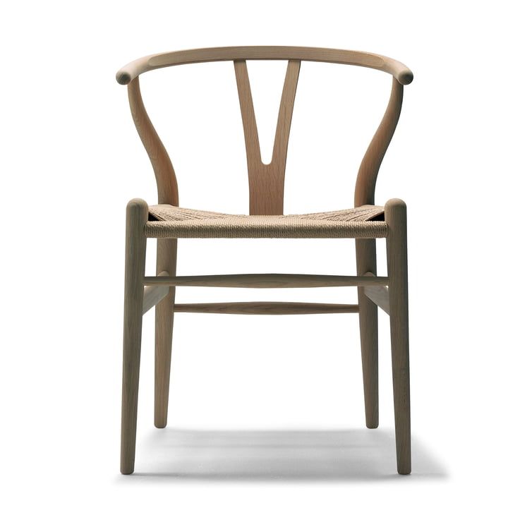 CH24 Wishbone Chair von Carl Hansen in Eiche geölt / Naturgeflecht