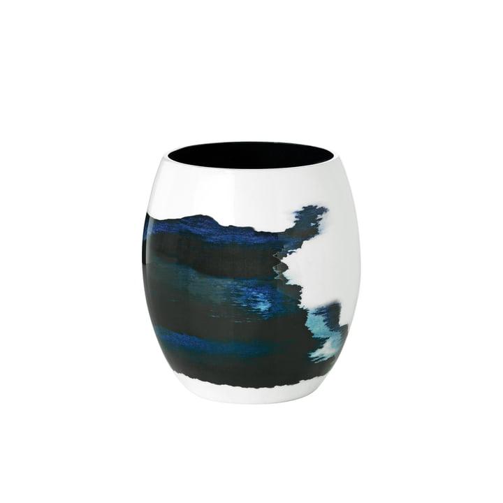Die Stockholm Vase Aquatic von Stelton in klein Ø 13,1 cm