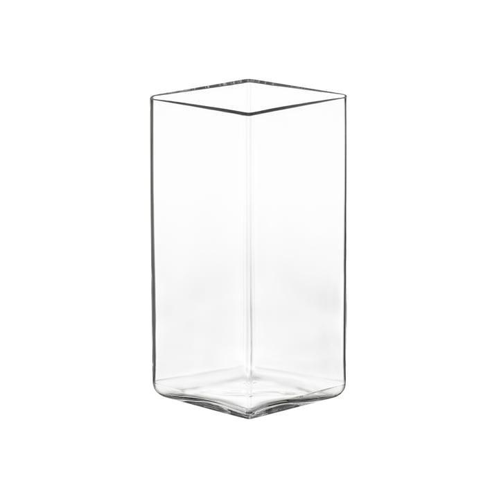 Ruutu Vase 115 x 180 mm von Iittala in klar