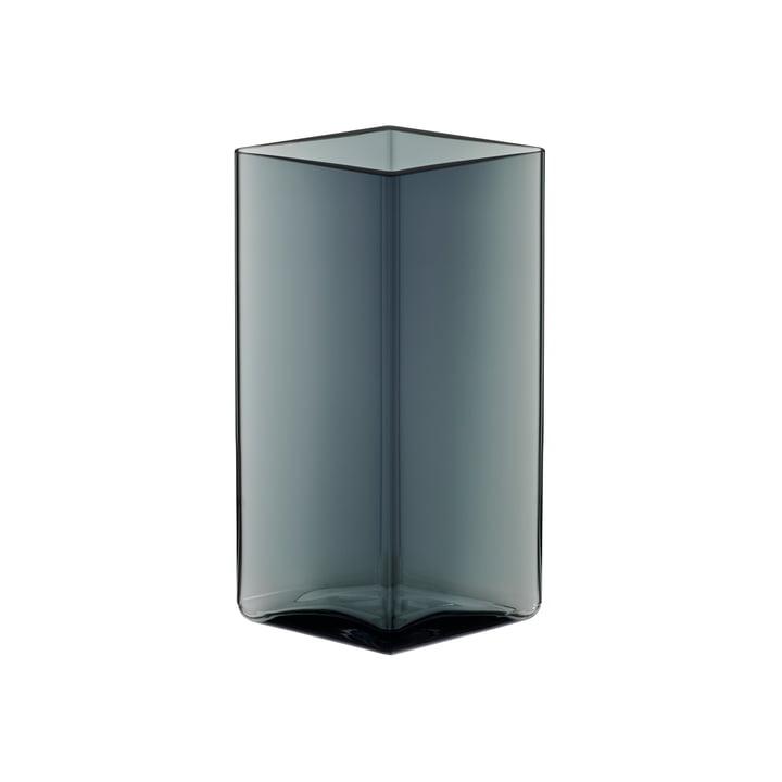 Ruutu Vase 115 x 180 mm von Iittala in Grau