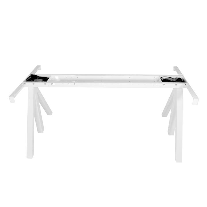 Works Höhenverstellbarer Tischrahmen von String in Weiss