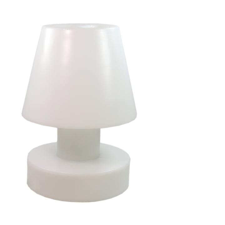Bloom! Portable Lamp LED - 56 cm, Akku, weiss