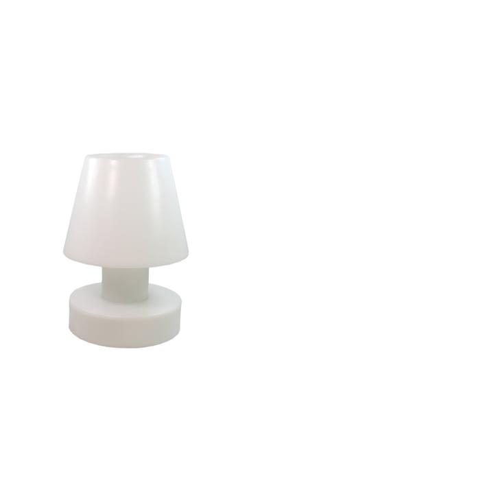 Bloom! Portable Lamp LED - 28 cm, Akku, weiss