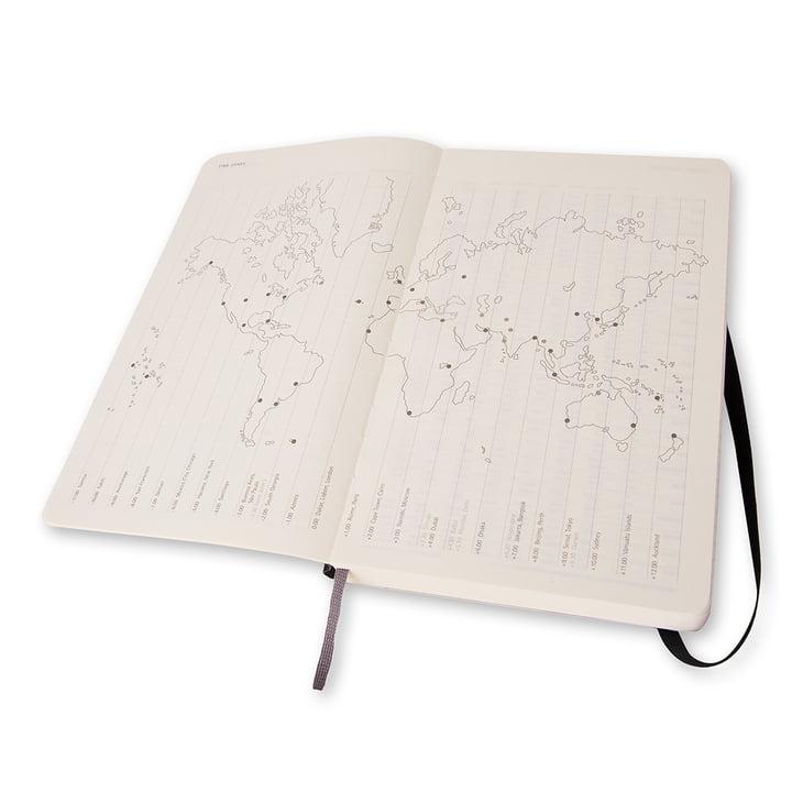 12 Monate Tageskalender Large von Moleskine