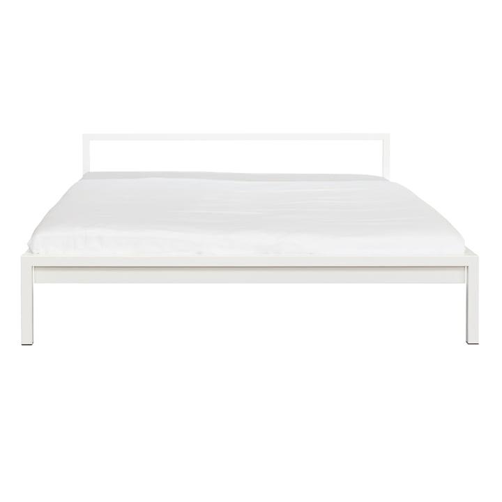 Weisses Pure Bett von Hans Hansen