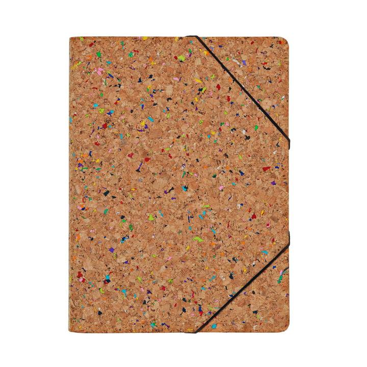 Nomess - Cork Folder A4, colour