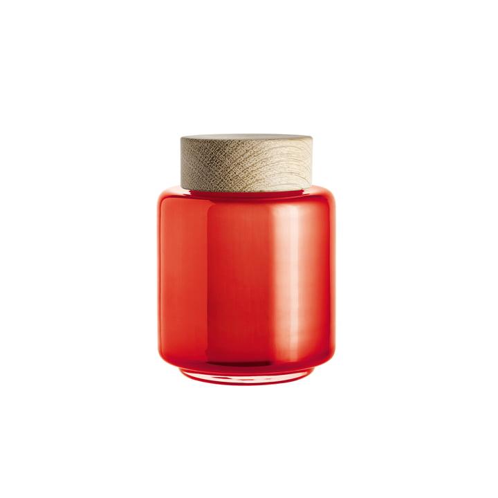 Holmegaard - Palet Aufbewahrungsglas in Orange für 0,35 l