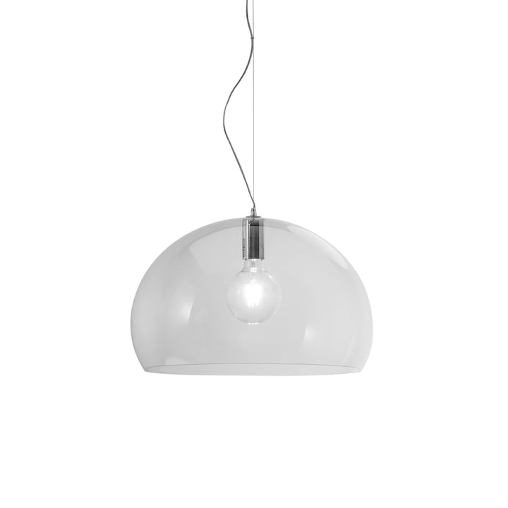 Small FL/Y Pendelleuchte von Kartell in Transparent