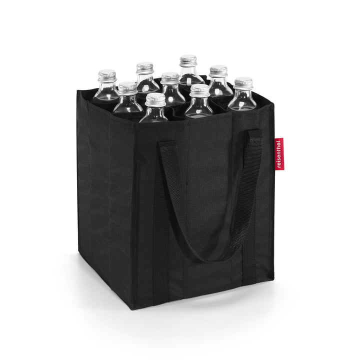 reisenthel - bottlebag in schwarz