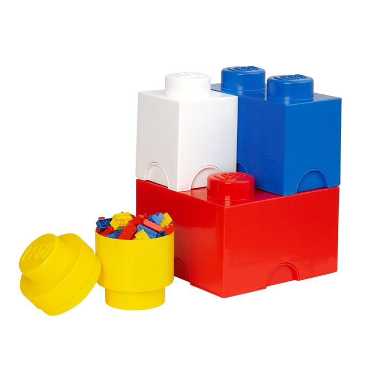 Lego - Storage Brick, 4er-Pack