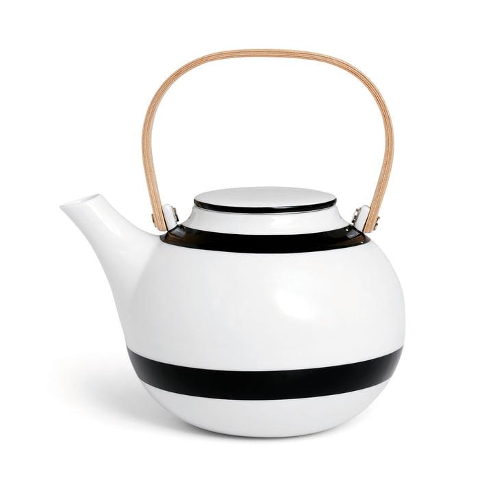 Kähler Design - Omaggio Teekanne 1 L in Schwarz.