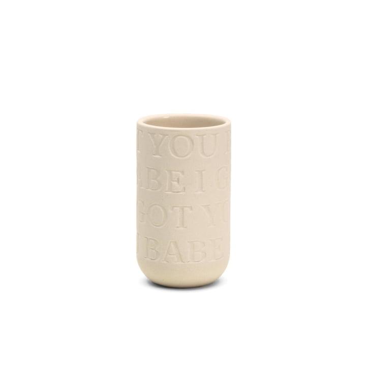 Kähler Design - Love Song Vase H 125 in Kalkweiss