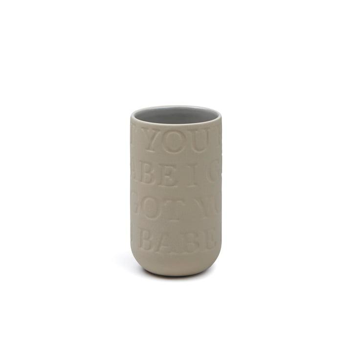 Kähler Design - Love Song Vase H 125 in Sand