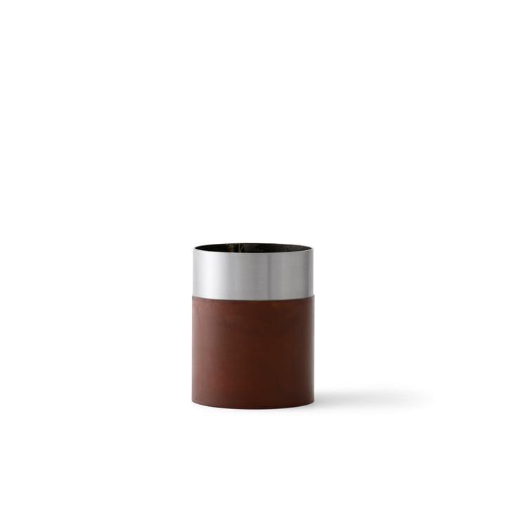 &Tradition - True Colour Vase LP4, braun Stahl