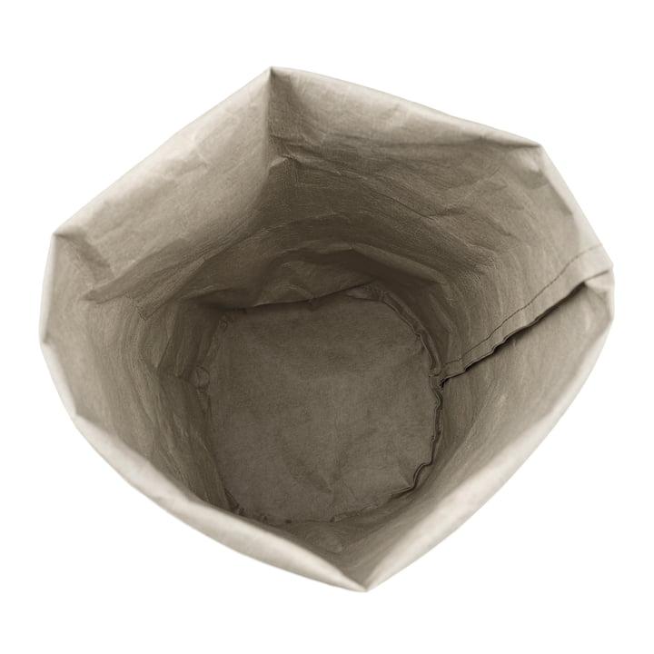 Storage Papiersack von Novoform in grau