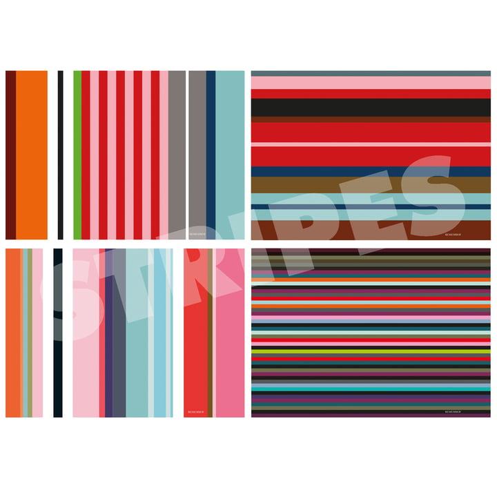 """Tischset-Block """"Stripes"""" von Remember"""