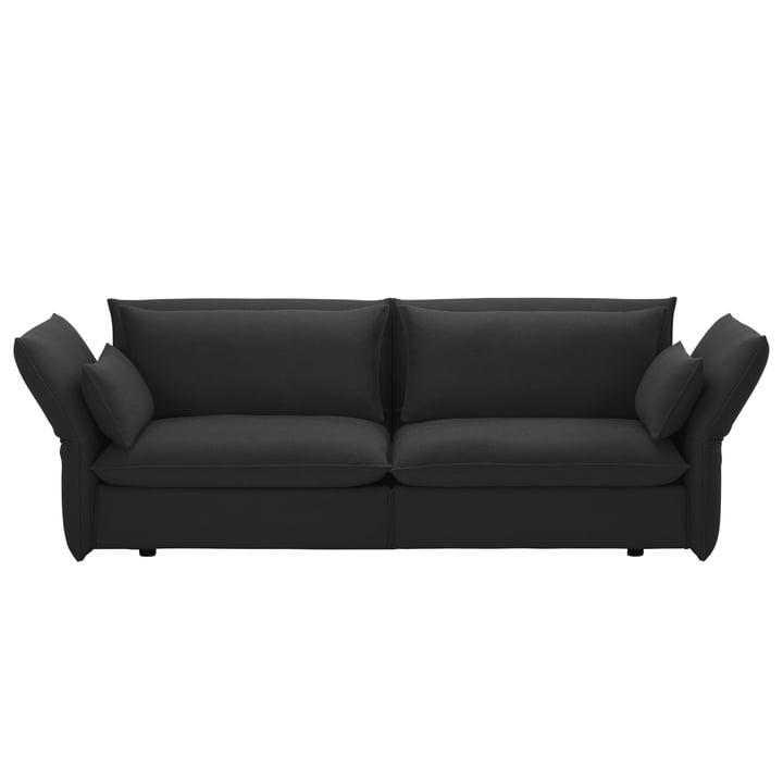 Mariposa Sofa 3-Sitzer von Vitra in Laser dunkelgrau