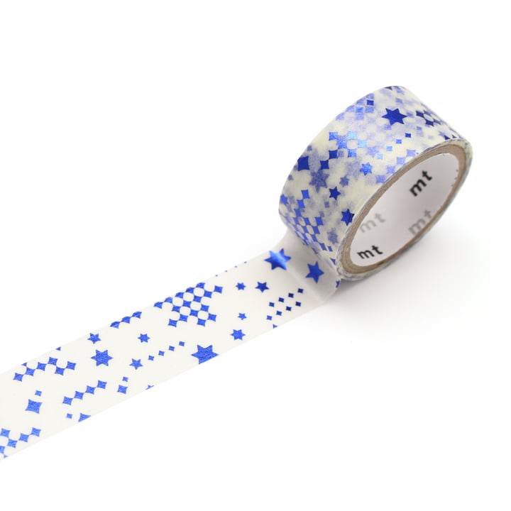 Masking Tape - mt fab Hot Stamping Tape Star Blue