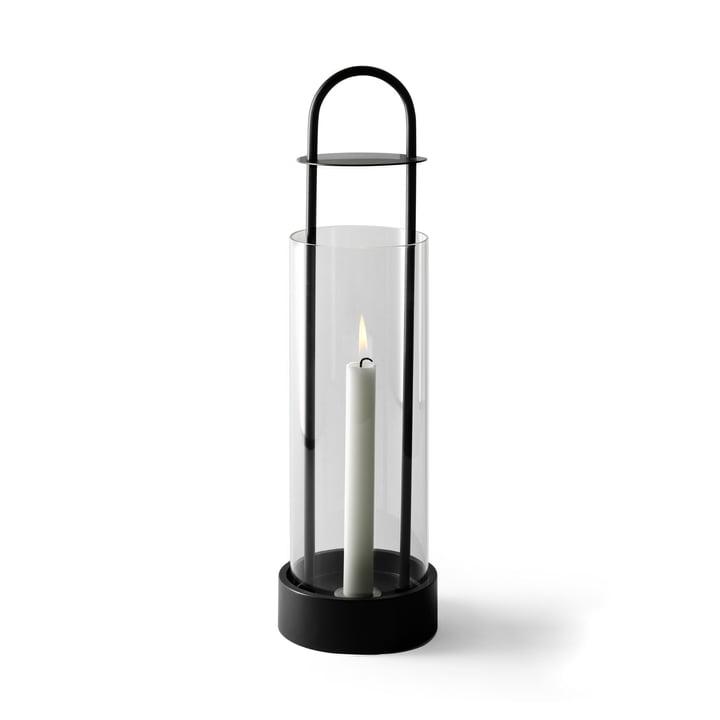 Design House Stockholm - Lotus Windlicht in Schwarz