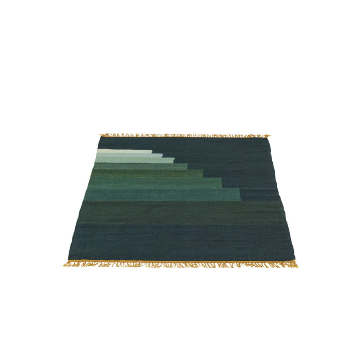 Another Rug AP1 Teppich, 90 x 140 cm von &Tradition in Jadegrün