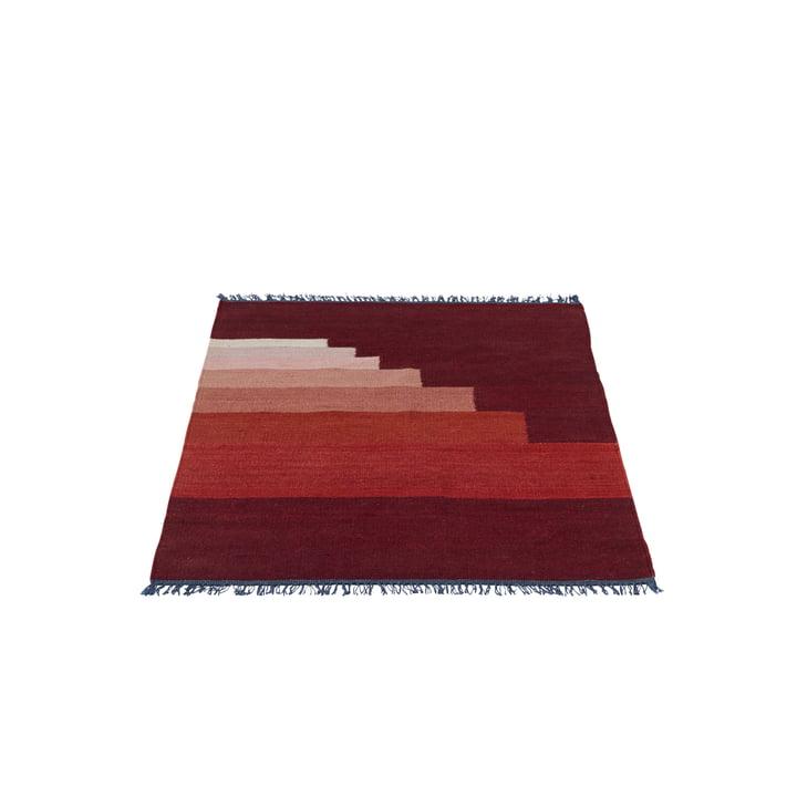 Another Rug AP1 Teppich, 90 x 140 cm von &Tradition in Vulcano Red