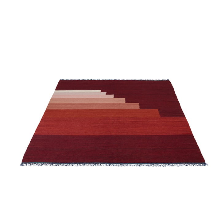 Another Rug AP3 Teppich, 170 x 240 cm von &Tradition in Red Vulcano