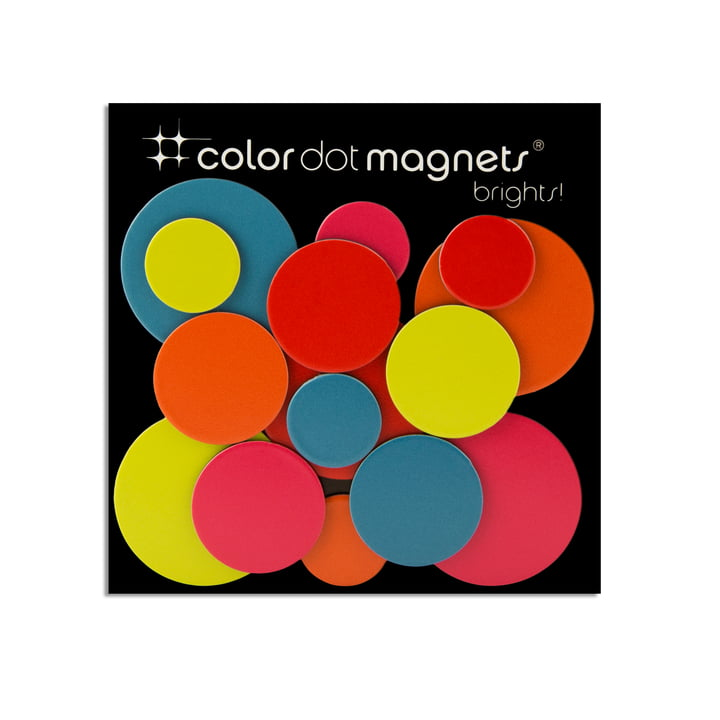 Color Dot Magnete von ThreeByThree im 15er Pack