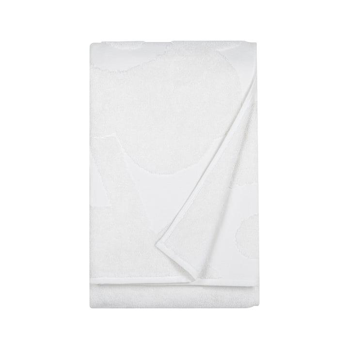 Marimekko - Unikko Solid Badetuch 75 x 150 cm in Weiss