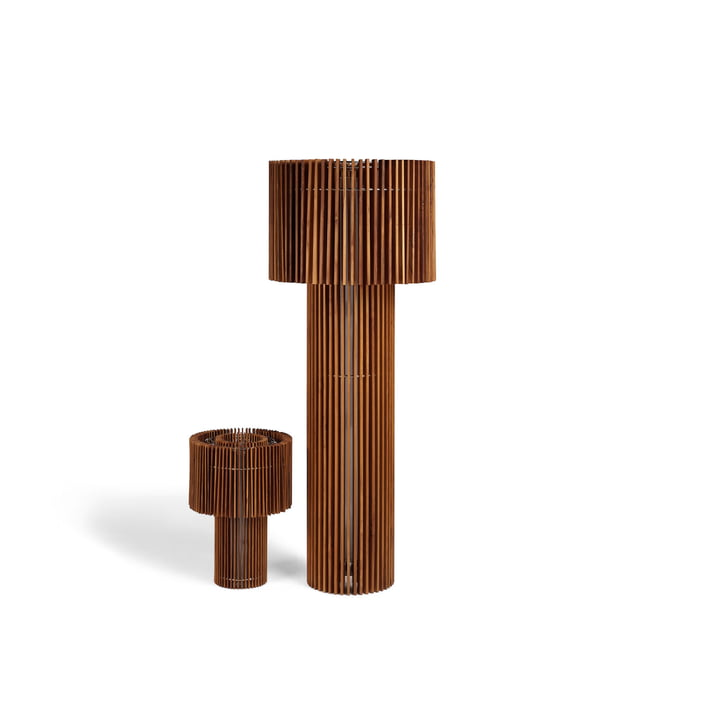 Wood Lamp Steh-/ Tischleuchte von Skitsch