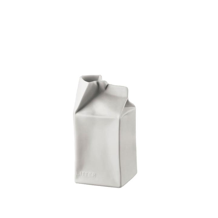 Rosenthal - Pacco Bello Vase 14 cm, weiss-matt poliert