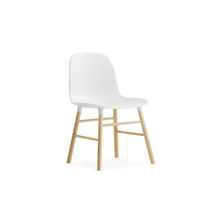 Form Chair Miniatur von Normann Copenhagen aus Eiche in Weiss