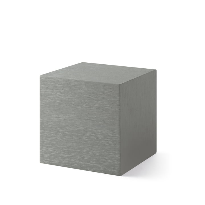 Alume Cube Clock mit LED Display von MoMA Collection