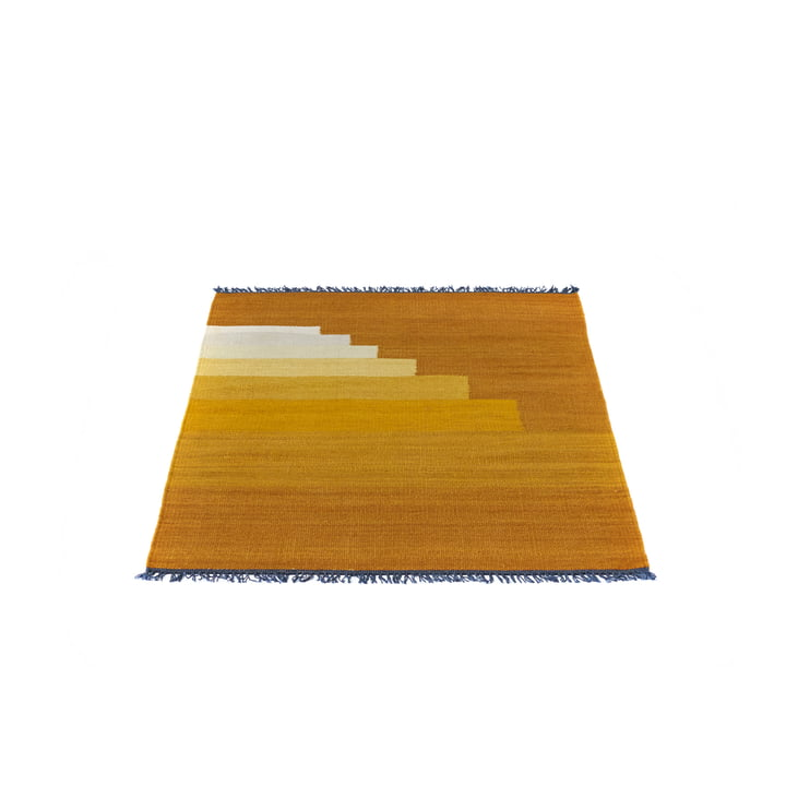 &Tradition - Another Rug AP1 Teppich (90 x 140) , Yellow Amber
