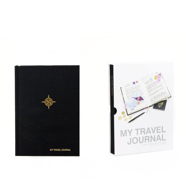 Suck Uk - My Travel Journal, schwarz