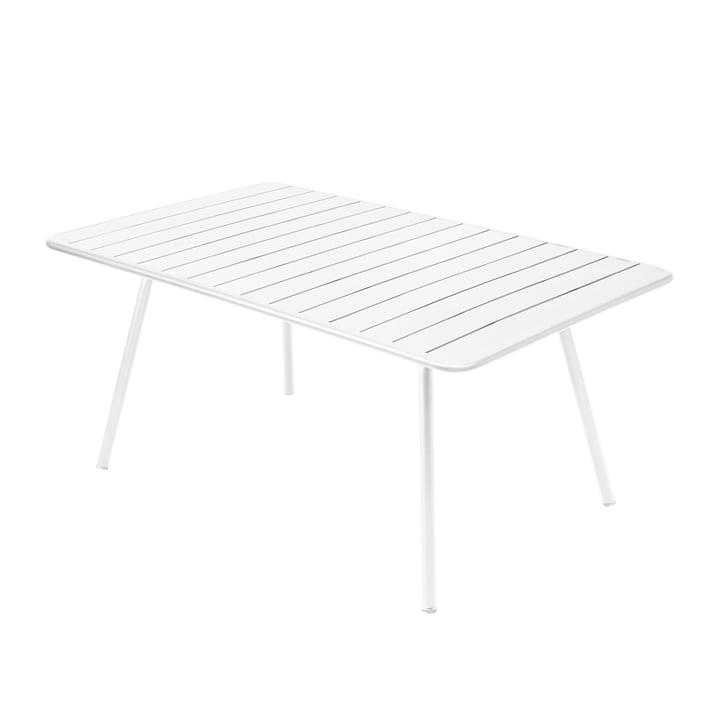 Luxembourg Tisch 165 x 100 cm von Fermob in Baumwollweiss