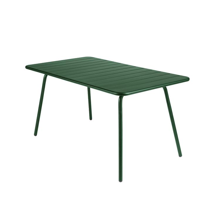 Luxembourg Tisch 80 x 143 cm von Fermob in Zederngrün