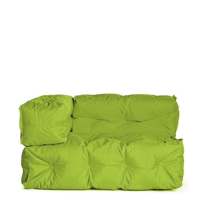 Sitting Bull - Couch II links, grün