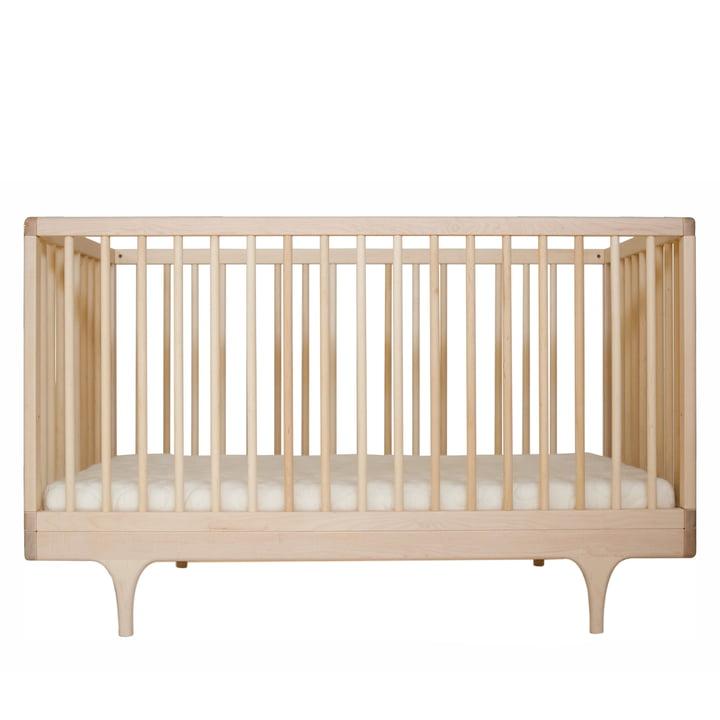 Babybett Caravan Crib von Kalon aus Ahorn