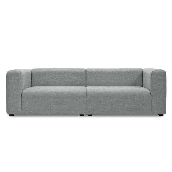Mags Sofa 2,5-Sitzer, Kombination 1 von Hay in Hellgrau (Surface 120)