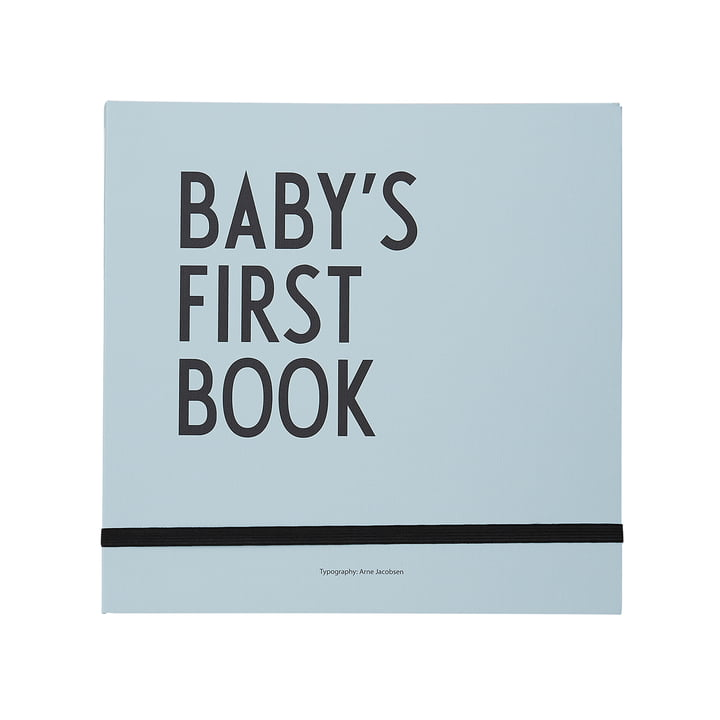 Baby's First Book von Design Letters in blau