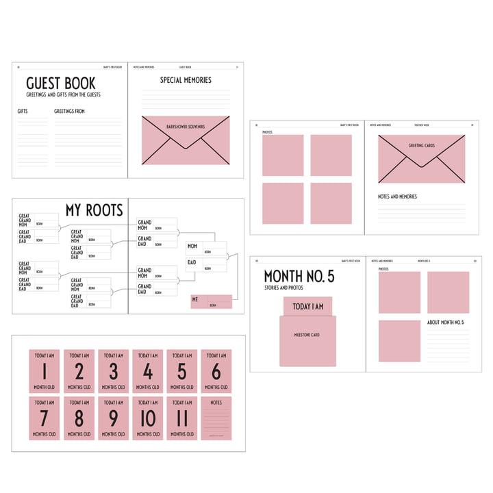 Baby's First Book von Design Letters in Rosa