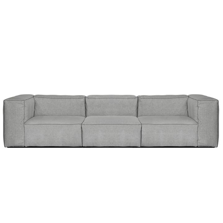 Hay - Mags Soft Sofa, 3-Sitzer, Hallingdal 130 hellgrau