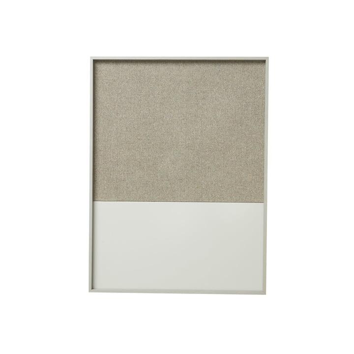 Frame Pinnwand Small von ferm Living in Grau