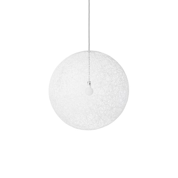 Random Light LED Pendelleuchte, small weiss von Moooi
