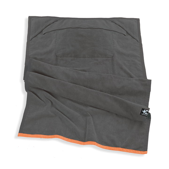 One Moe Handtuch von Terra Nation in Grau