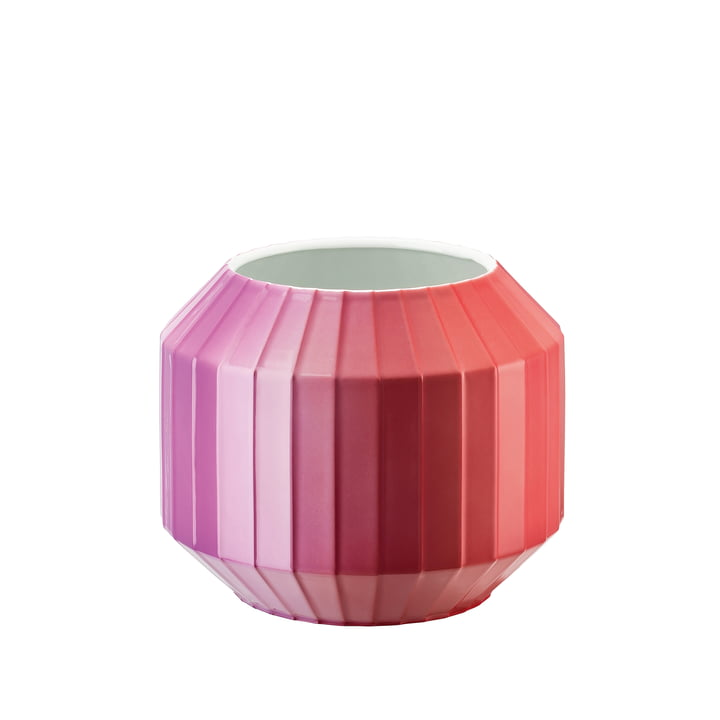 Die Hot-Spot Vase in Flashy Red, 16 cm von Rosenthal