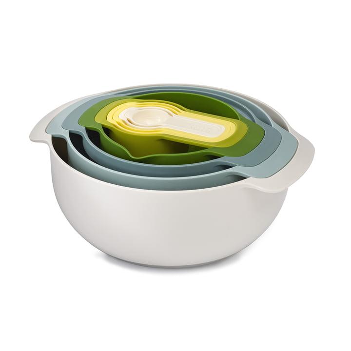 Nest 9 Plus Küchenset von Joseph Joseph in Opal