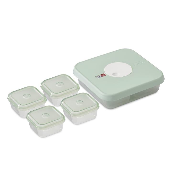 5er-Set Dial Baby Aufbewahrungsbehälter Stufe 2 (8-12 Monate) von Joseph Joseph