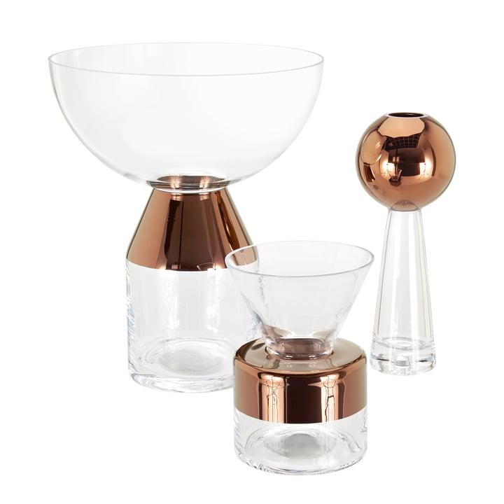 Tank Glas Vasen von Tom Dixon