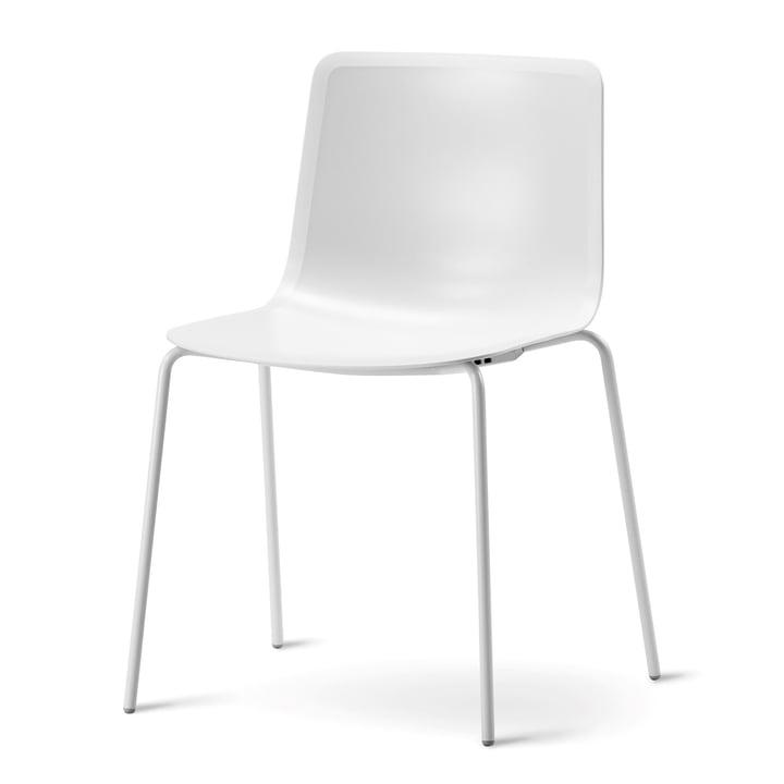 Pato 4 Beine Stuhl von Fredericia in Weiss